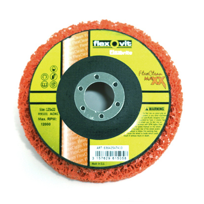 Flexclean MaXX 125x12 mm Orange