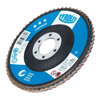 27A FLAP DISC 125x22,23, CA40